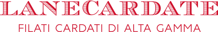 Logo LANECARDATE, filati cardati di alta qualità